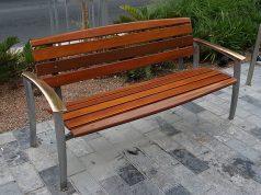 ספסל גינה לבניינים משותפים
